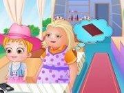 Bebelusa Hazel si bunica