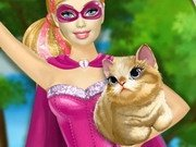 Super Barbie salveaza o pisicuta