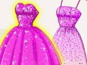 Rochii stralucitoare pentru Super Barbie