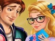 Rapunzel si Flynn High School Love