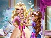 Printesa Barbie la Croitorie