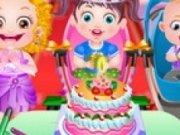 Tort pentru ziua lui Baby Hazel