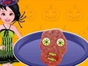 Chiftele in forma de zombie