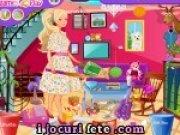 Joc de facut curatenie in casa lui Barbie