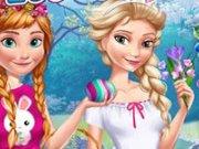 Elsa si Anna Vacanta de Pasti