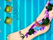 Pedichiura si tatuaj