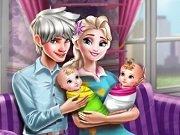Elsa si bebelusii gemeni