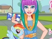 Barbie Machiaj Micul meu poney