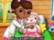 Doctorita Plusica ingrijeste un miel mic