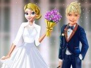 Elsa mireasa lui Jack Frost