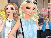 Elsa si Anna la Shopping