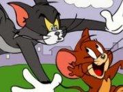Puzzle cu Tom si Jerry
