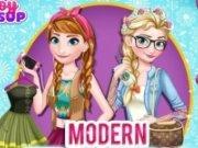 Elsa si Ana Look Modern