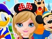 Baby Barbie la Disneyland