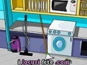 Joc de facut curatenie in bucatarie