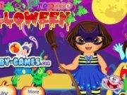 Pregatiri de Halloween cu Dora