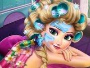 Machiaj de vacanta pentru Elsa