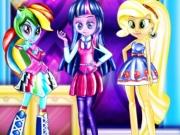 Fetele din Equestria la scoala