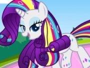 Stil nou pentru poneiul Rarity Rainbow