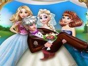 Sesiune foto cu Elsa mireasa
