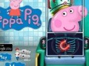 Purcelusa Peppa la spital