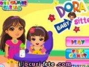 Joc nou cu Dora Babysitter