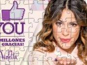 Jigsaw Puzzle cu Violetta