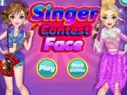 Singer Contest Face