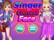 Singer Contest Face