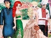 Elsa mireasa face inconjurul lumii