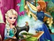 Anna si Elsa croitorese