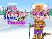Baby Hazel vacanta la Schi