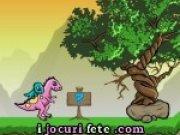 Joc de aventura cu doi dinozauri