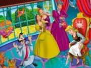 Coloreaza personajele din Cenusareasa