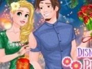 Rapunzel si printul Eric Lampioane