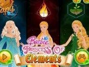 Barbie Elemente de Foc, Pamant si Apa