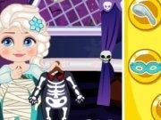 Baby Elsa Slacking de Halloween
