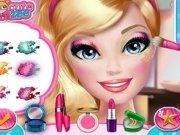 Barbie imbracat si machiat si coafat