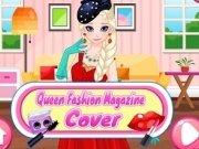 Elsa Sedinta Foto pentru coperta revistei de modă