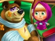 Masha si Ursul: la veterinar