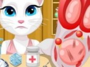 Talking Angela Accident la picior