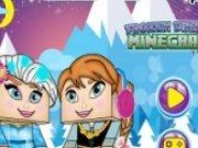 Anna si Elsa Joc Minecraft