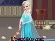 Printesa Elsa face curatenie in Regatul de Gheata