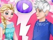 Elsa il paraseste pe Jack Frost