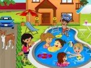 Decoreaza piscina copiilor din gradina