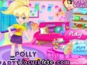 Polly face curatenie dupa petrecere