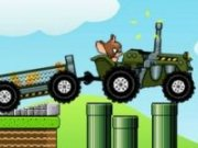 Tom si Jerry obstacole cu Tractorul