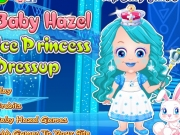 Bebelusa Hazel Printesa de gheata