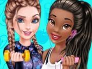 Elsa si Tiana Fitness