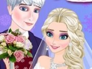Nunta de gheata Elsa si Jack Frost
